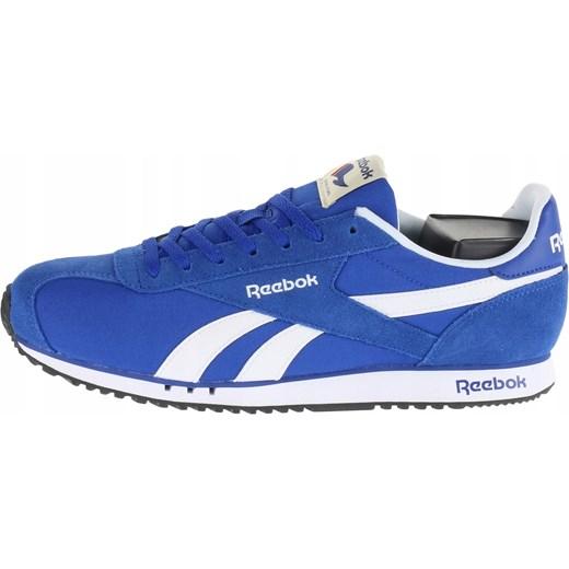 nowy Buty sportowe męskie Reebok royal niebieskie sznurowane