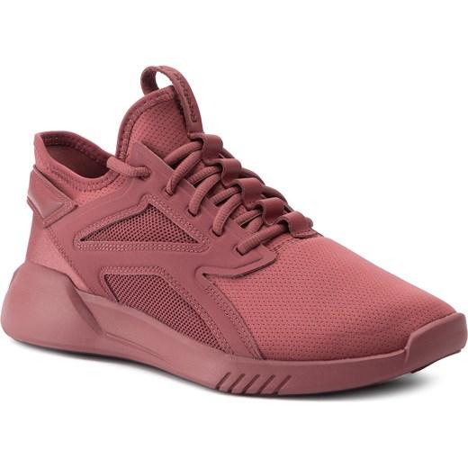 Buty sportowe damskie Reebok print płaskie sznurowane z gumy