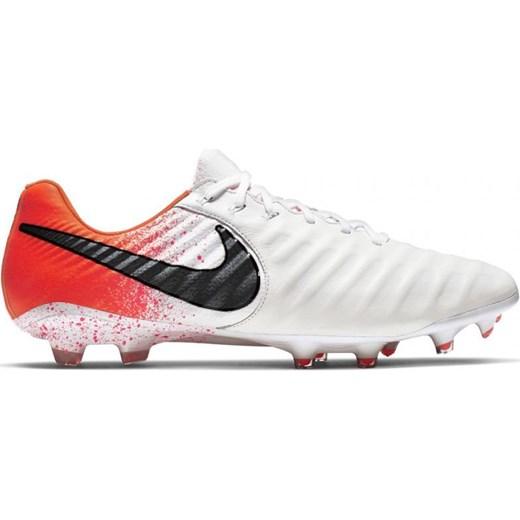 Buty sportowe męskie białe Nike revolution sznurowane www