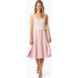 15ae631c2462d0 Sukienka Vera Mont Collection na urodziny trapezowa z okrągłym dekoltem na  bal