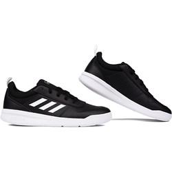 2c024ccf Buty sportowe damskie Adidas do biegania gładkie sznurowane na płaskiej  podeszwie