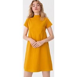 f0532ff33d4f6c Sukienka House mini trapezowa z krótkimi rękawami