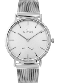 Zegarek damski Gino Rossi NIKKI srebrny  Gino Rossi alleTime.pl - kod rabatowy