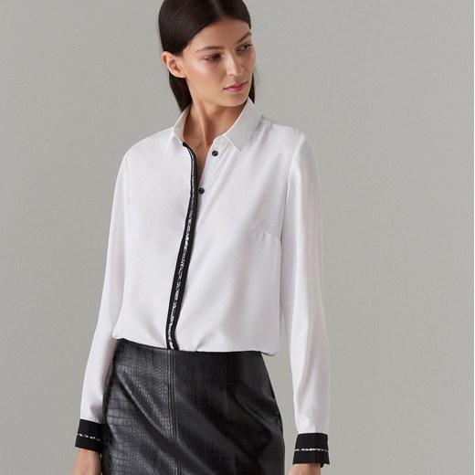30% OBNIŻONE Koszula damska Mohito z długim rękawem z  izTp2