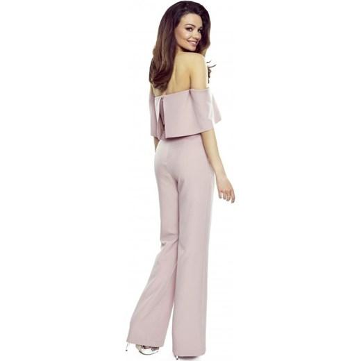 w ofercie Różowy kombinezon damski Bergamo bez wzorów długi Odzież Damska OO różowy Kombinezony damskie QIWW