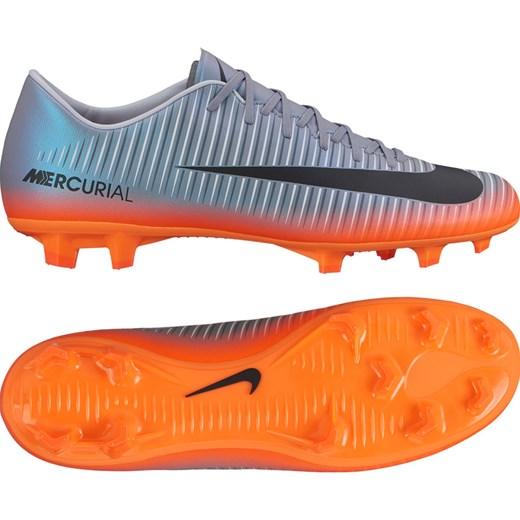 Buty sportowe męskie Nike Football mercurial sznurowane