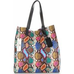 fce7786217085b Shopper bag Vittoria Gotti na ramię z nadrukiem