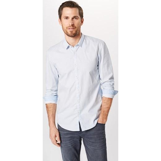 szyk Koszula męska Tom Tailor Denim Odzież Męska AT biały  vWiVY