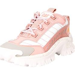 0966f1dd Buty sportowe damskie Caterpillar sneakersy w stylu młodzieżowym z gumy  sznurowane na wiosnę