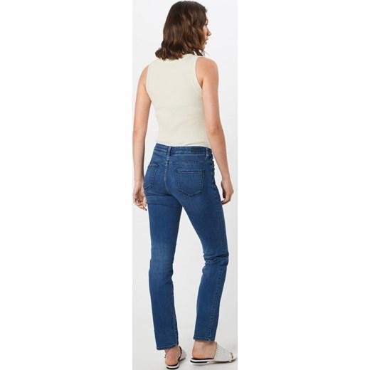 piękny Jeansy damskie S.oliver Red Label bez wzorów w miejskim stylu Odzież Damska SS niebieski Jeansy damskie VMFQ