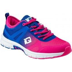 2747034c Buty sportowe damskie Iq sznurowane na płaskiej podeszwie z gumy