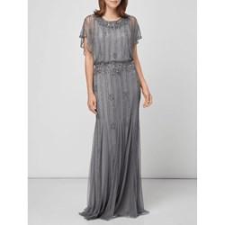 46f9a2fa9 Lace & Beads sukienka z aplikacjami z okrągłym dekoltem balowe