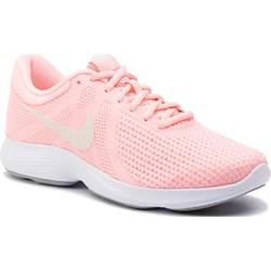 67c33972da46bf Różowe buty sportowe damskie Nike do biegania revolution bez wzorów
