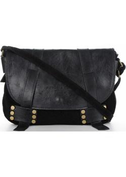 Torebki Skórzane Listonoszki firmy VITTORIA GOTTI Czarna (kolory)  Vittoria Gotti torbs.pl wyprzedaż  - kod rabatowy