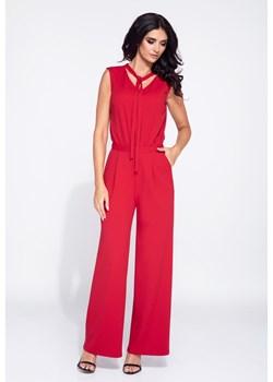 Kombinezon damski bez rękawów z szerokimi spodniami Bien Fashion   - kod rabatowy
