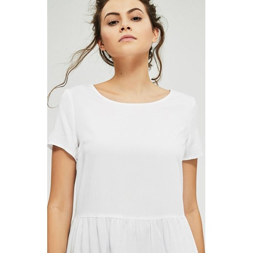 Bluzka damska Diverse z krótkim rękawem Odzież Damska WE