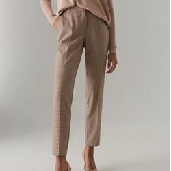a227bb86 Spodnie damskie Mohito w kratkę
