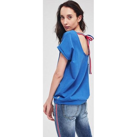 Bluzka damska Diverse casual z krótkimi rękawami Odzież