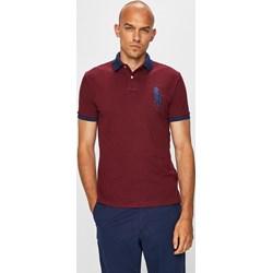 e568bc92d T-shirt męski Polo Ralph Lauren brązowy z krótkim rękawem