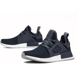 78ad18fe4ce586 Buty sportowe damskie Adidas sneakersy w stylu młodzieżowym nmd sznurowane  gładkie na płaskiej podeszwie
