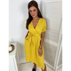 fd1989722 Żółte sukienki, lato 2019 w Domodi