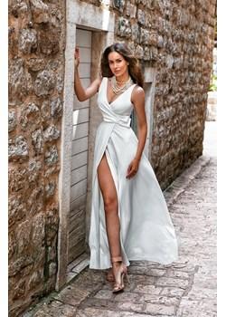 Sukienka Oprah-biały  Emo Sukienki Pawelczyk24.pl okazja  - kod rabatowy