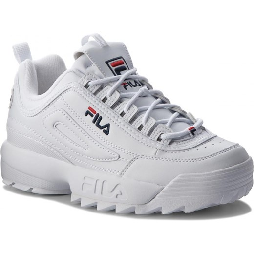 5ae63f68 Sneakersy damskie Fila bez wzorów
