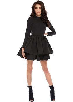 Sukienka OOH LA LA Black  Made In Poland By Ooh La La okazja Ooh la la  - kod rabatowy