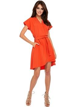 Sukienka Voque Orange Made In Poland By Ooh La La  Ooh la la - kod rabatowy