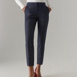 34510536 Mohito spodnie damskie bez wzorów