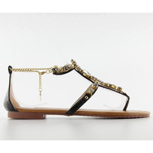 Sandały damskie Butymodne na płaskiej podeszwie casual Buty