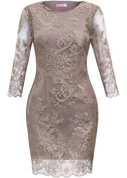 Sukienka Gold  M. Choice  - kod rabatowy