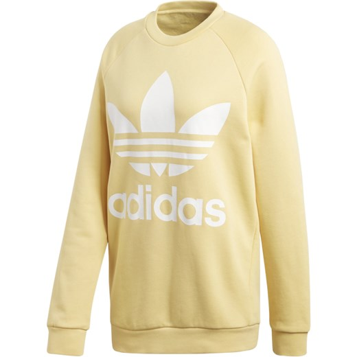 60% ZNIŻKI Bluza sportowa Adidas Odzież Damska YV żółty
