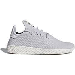 Buty sportowe damskie Adidas do biegania pharrell williams bez wzorów sznurowane płaskie
