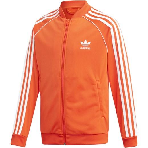 szyk Bluza chłopięca Adidas poliestrowa na wiosnę Odzież