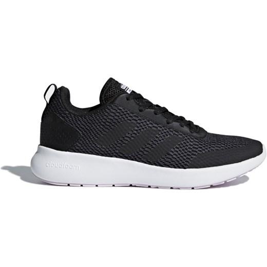 Buty sportowe damskie Adidas na fitness sznurowane płaskie