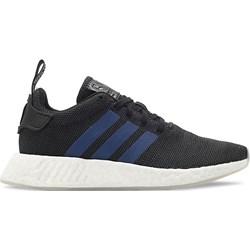 a644b5b7d27e16 Buty sportowe damskie Adidas nmd czarne płaskie gładkie wiązane