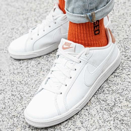 Trampki damskie Nike reebok royal płaskie skórzane sportowe bez wzorów sznurowane