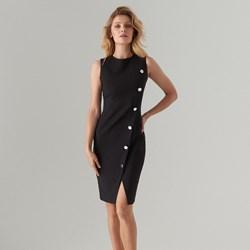 f5596778d3ee96 Czarne sukienki, lato 2019 w Domodi