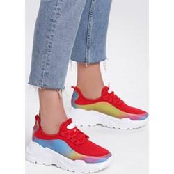 fc6feed6 Sneakersy damskie Renee bez wzorów na wiosnę