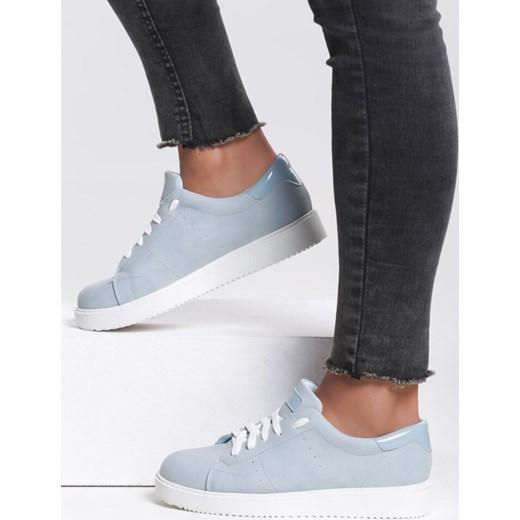 Niebieskie Buty Sportowe Elastic Hands Renee niebieski renee