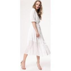 c7e560bd Biała sukienka Born2be