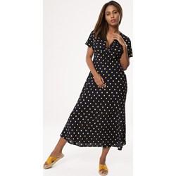 4f5b37ad690cf1 Granatowe sukienki, lato 2019 w Domodi