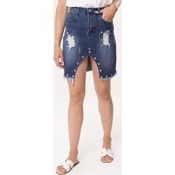 7c306d8c Spódnica niebieska Born2be mini
