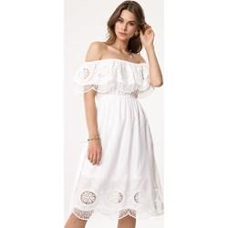 1bf4bcbe878 Białe sukienki, lato 2019 w Domodi