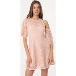 567784c4 Sukienka Born2be z krótkim rękawem