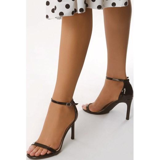 born2be buty damskie sandały na obcasie