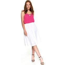 70b4150d Top Secret spódnica biała