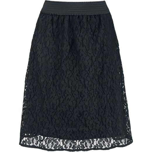 Stała usługa Spódnica Vive Maria elegancka mini Odzież Damska ZN czarny Spódnice SYWQ