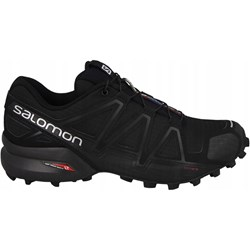 61b282c1 Buty sportowe męskie Salomon speedcross ze skóry ekologicznej w Domodi